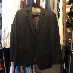 Marc Andrew Suit Jacket - Black, Size 38S W31